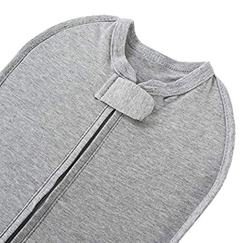 The Original Woombie Baby Swaddle Blanket, Twilight Heathered Grey, 5-13 lbs