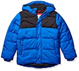 Amazon Essentials Boys' Heavy-Weight Hooded Puffer Coat