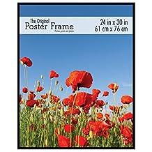 MCS 24x30 Original Poster Frame in Black with Pressboard Back & Styrene Glazing