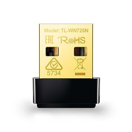 TP-LINK TL-WN725N V2 NETWORK ADAPTER DESCARGAR DRIVER
