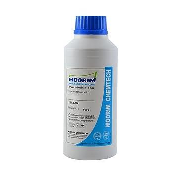 Recarga Tinta Impresoras Hp de inyección Botella de 1/2 Litro Cian ...