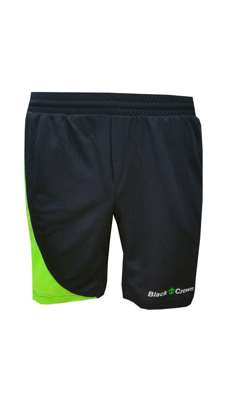 Pantalón Padel Black Crown Hombre Ball negro verde-XL: Amazon.es: Deportes y aire libre