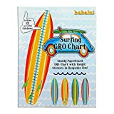 Growth Chart - Surfboard Gro Chart With 12 Moveable