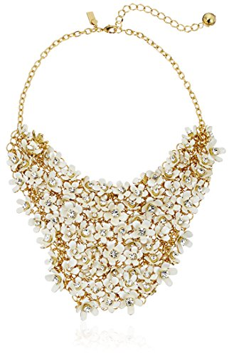 kate spade new york Pretty Petals Statement Necklace