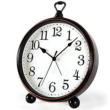 BENJUNReloj de Estilo Europeo Creativo Retro Reloj ...