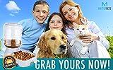 Comfecto Automatic Dog Food Dispenser, Dog Feeder