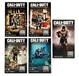 Mega Bloks Call of Duty Construction Set 5 Pack Bundle: Brutus, Juggernaut, Seal Specialist, Gillie Suit Sniper & Exclusive Ghosts Tactical Figure Pack (1 Pack of Each)