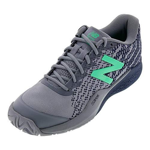 (New Balance Men's 996v3 Hard Court Tennis Shoe, Reflection/Pigment, 12 2E US )