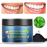 Best Toothpaste For Bad Breaths - Teeth Whitening Charcoal Powder, Herwiss Natural Coconut Activated Review