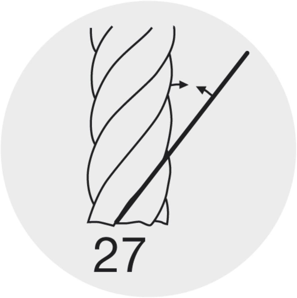 Fraise à fileter GF en carbure monobloc, arrosage central, 2