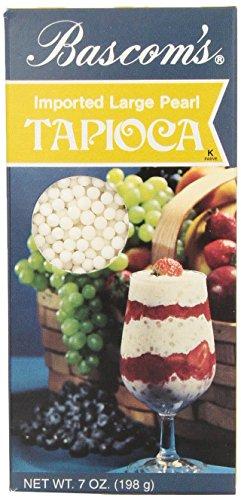 Large Pearl Tapioca - Bascom's Imported Large Pearl Tapioca 7 Oz.