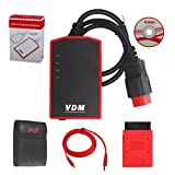 Original VDM UCANDAS WIFI OBD2 V3.84 Universal Vdm Diagnostic Tool Ucandas Vdm Full System Vdm Scanner With Honda Adapter Update Online