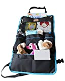 Baby Cot with Change Table Attached iPad / Tablet Holder with Car Seat Organizer - Touch Screen - Best Solution For Entertaining Rides In Tidy Cars - Use Also as Seat Protector/Kick Mat - Storage For Baby Items, Kids Toys, Books/Bottle