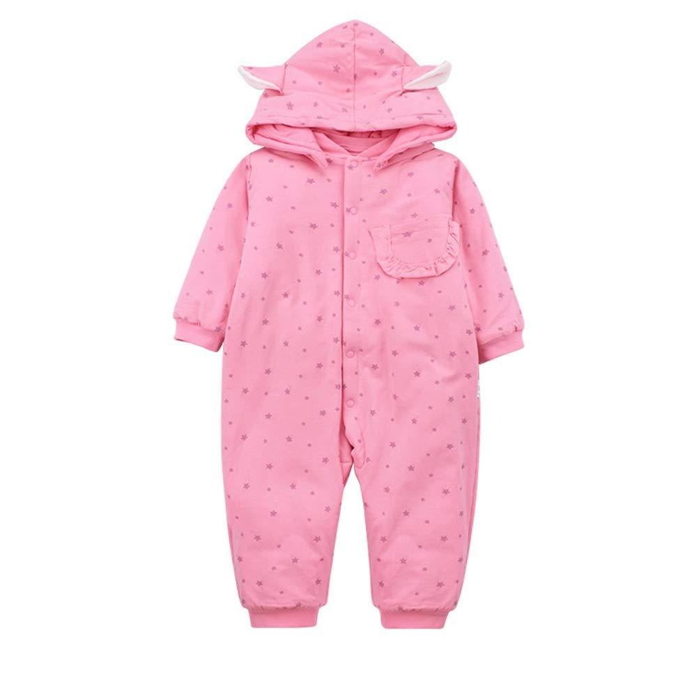 MC-BLL-Baby jumpsuit Ropa de Arrastre bebé recién Nacido 0-1 otoño e Invierno bebé Guardapolvos Acolchado niñas Ropa de Abrigo: Amazon.es: Hogar