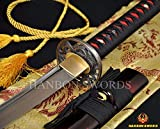 Best Katana Swords - apanese Samurai Sword Katana 1060high Carbon Steel Full Review