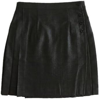 The Uniform Company Falda Uniforme Escolar Gris sin Tirantes ...