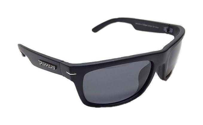fe2519022ef32 Amazon.com  Peppers MP5709-41 Eclipse Polarized Sunglasses