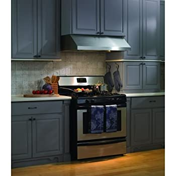 ancona under cabinet range hood reviews presenza vent inch with magic lung blower level lighting fire safe design stainle kitchen rang
