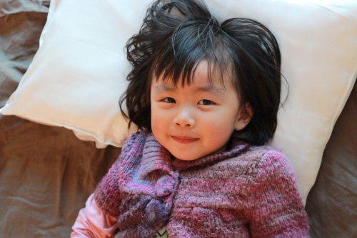 100% Children's Silk Pillow with -
