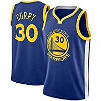 MTBD Camiseta de Baloncesto para Hombres - NBA Warriors Golden State # 30 Stephen Curry Camiseta de Baloncesto Unisex Sportswear Camiseta