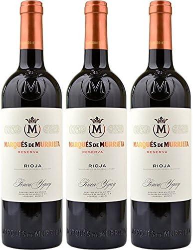 Marqués de Murrieta Reserva Rioja DOCa Seco 2014 (3 x 0.75 l): Amazon.es: Alimentación y bebidas