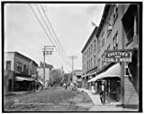 Photo: Broadway,Saranac Lake,commercial streets,Adirondack Mountains,New York,NY,c1909