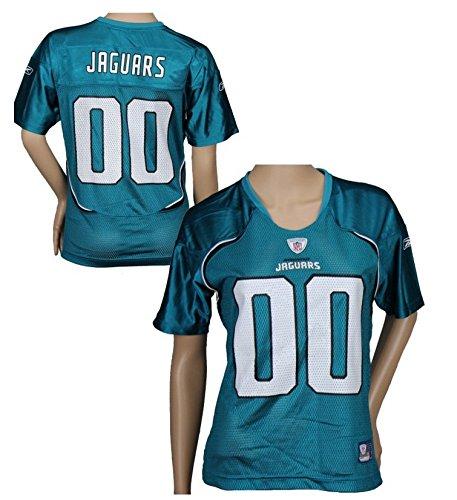 Reebok Teal Replica Football (Jacksonville Jaguars NFL Womens Team Replica Jersey, Teal (Large,)