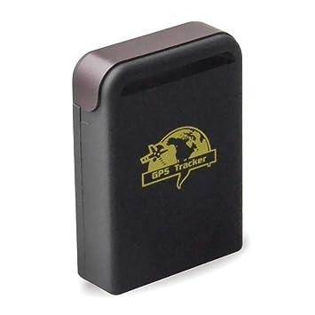Househome GPS, Mini Localizador GPS para Coche TK102 Rastreador GPS GPRS Impermeable Y Recargable con