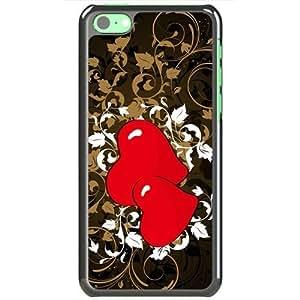 Apple iPhone 5C Case EMO Love Love Design Love Black hjbrhga1544