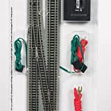 Bachmann Industries E-Z Track 6 Single Crossover Turnout - Left (1/card) N Scale