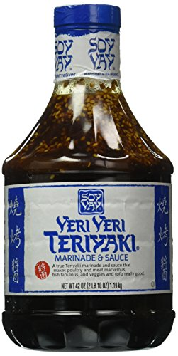 Soy Vay Veri Veri Teriyaki Marinade and Sauce 42 oz. Bottle