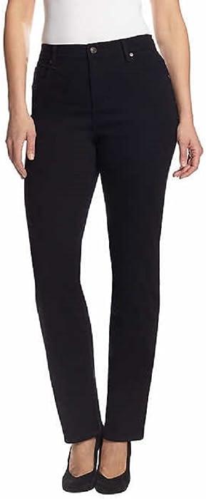 bcdc27be452 Gloria Vanderbilt Ladies  Amanda Stretch Denim Tapered Leg Jean Sizes 4-18  Short Length