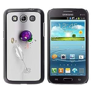 Cubierta protectora del caso de Shell Plástico || Samsung Galaxy Win I8550 I8552 Grand Quattro || Wine 3D Funny Drunk @XPTECH