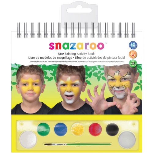 Snazaroo Face Painting Activity Book