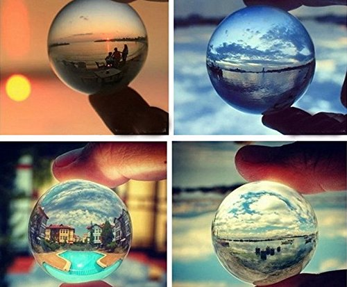 Crystal Ball, Clear 2.4 inch - Glasses App Where Are My