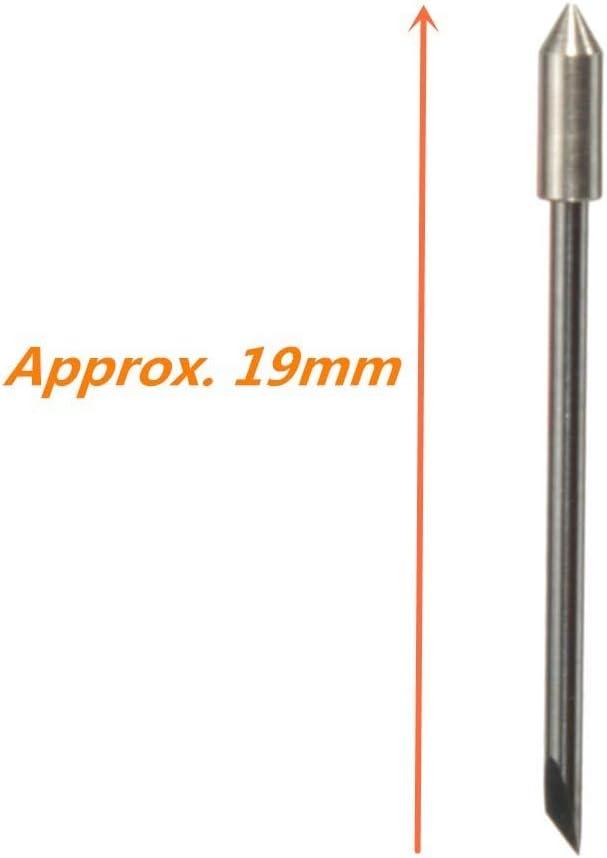 Cutter Roland - Juego de 5 cuchillas de 45 grados para cortador de vinilo Cb09 + muelles de 45 taladros: Amazon.es: Bricolaje y herramientas