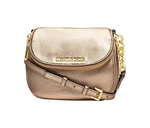 Michael Kors Bedford Flap Crossbody leather PALE GOLD