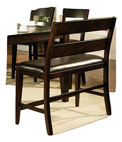 24'' Kitchen Counter Height Dining Bench in Espresso by Lauren Wells
