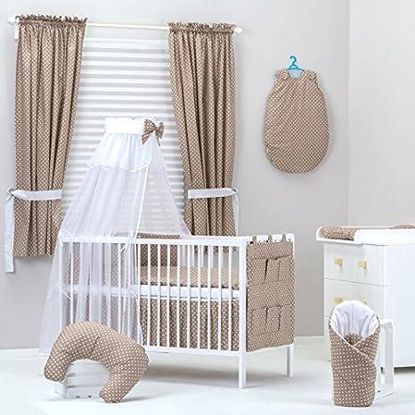Set 18 pcs ropa de cama de bebé: cortinas, Cielo, Torre de ...