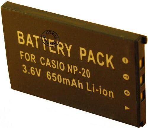 バッテリー CASIO CNP20