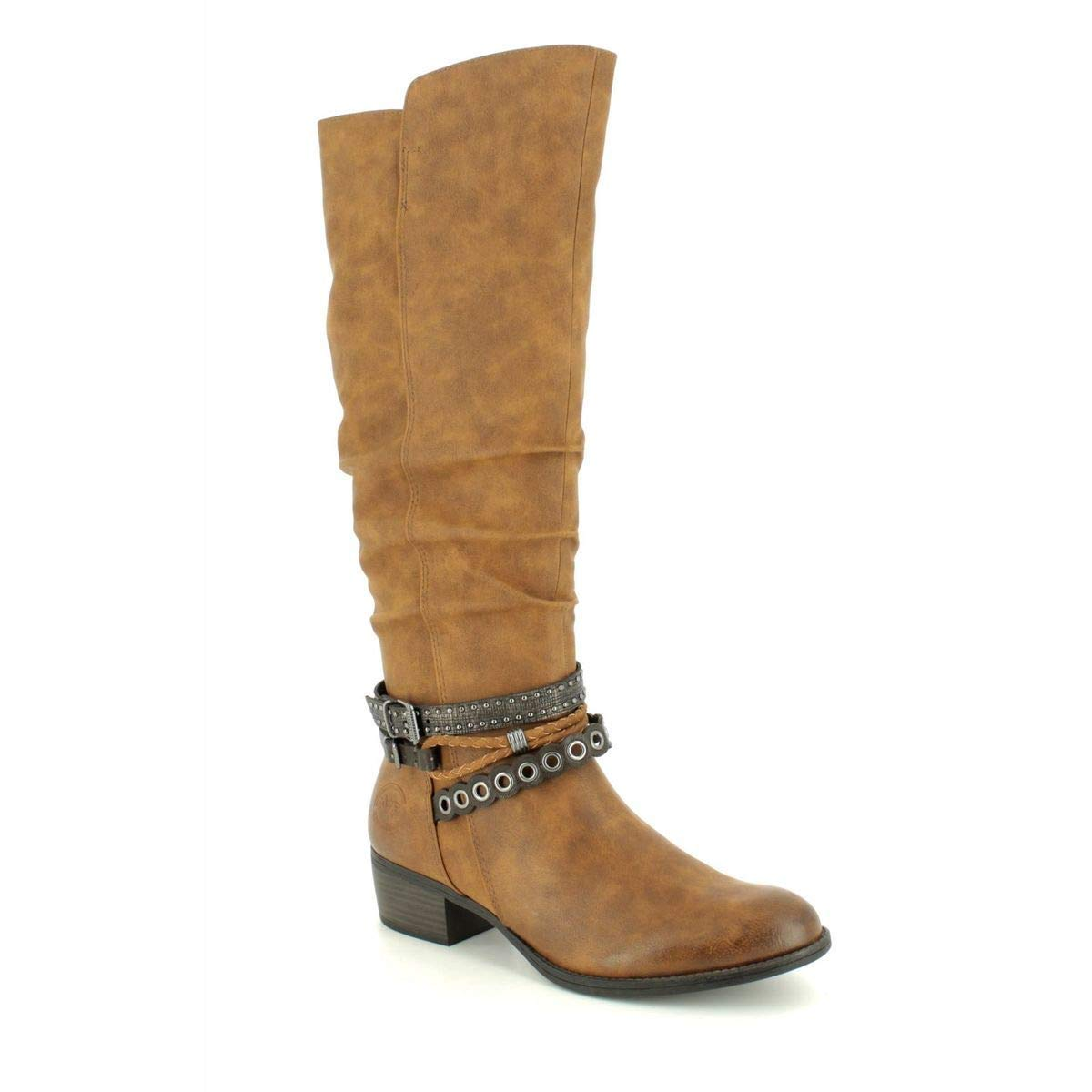 21 2 Femmes femme MARCO Botte TOZZI Chaussures 25525 yOmN80vnw