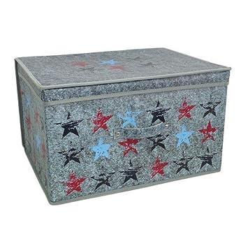 Spielzeugbox Vintage Gro/ße faltbare Jumbo-Aufbewahrungsbox f/ür Kinderzimmer