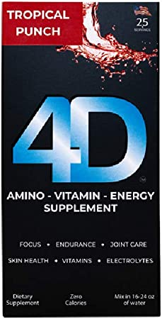 4D Clean Energy Dietary Supplement (25 Count)