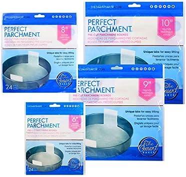 The Smart Baker Pre-Cut Round Cake Pan Parchment Bundle