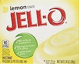jello lemon pie filling - Jell-O Lemon Flavor Instant Pudding & Pie Filling, 3.4 Oz (96g) 4-pack