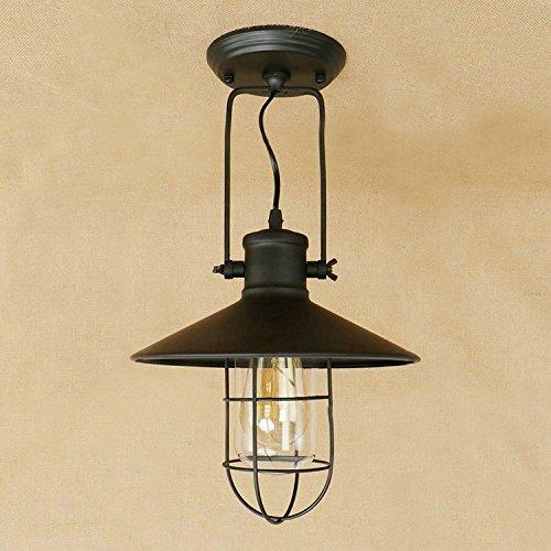 Industrial Adjustable Hanging Pendant Light - LITFAD 10.63