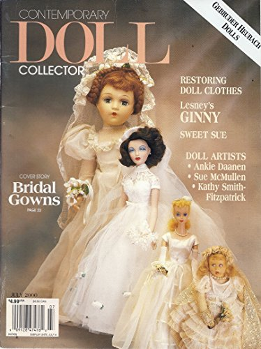 Collector Magazine Doll - Contemporary Doll Collector Magazine (July 2000 - Cover Story: Bridal Gowns)