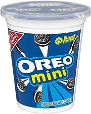 OREO Mini Chocolate Sandwich Cookies Go-Pak, On The Go Snacks, 3.5 oz