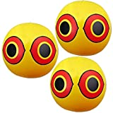 Luss Custom 3 Pack Scare Eye Balloons Bird Repellent Control Device Reflective Keeps All Birds Away from Your Home, Garden and Farm (Scare Eye Balloon)