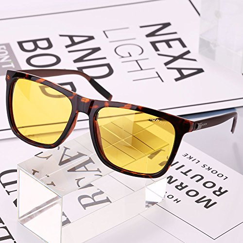 Aviator Retro Aluminum Polarized Vintage Mens Eyewear Eye view tortoiseshell Sunglasses Jiayuane night Glasses nHFZU